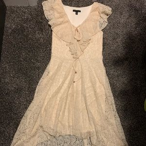 Dresses & Skirts - Cream lace dress